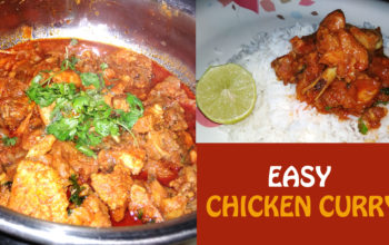 How to make Chicken curry with easy steps